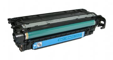 HP 504A Cyan Refurbished Toner Cartridge (CE251A)